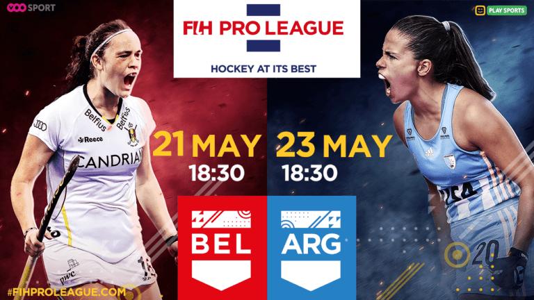 BEL vs ARG 21-23.05