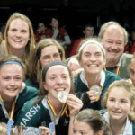 Les dames du Waterloo Ducks en Lituanie pour la coupe d'Europe Indoor