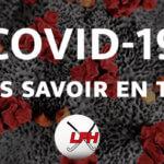 COVID-19 – Que devez-vous savoir en tant que club ?