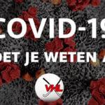 COVID-19 – Wat moet je weten als club?