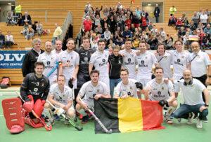 Berlin - EuroHockey Indoor Championship 2020 (M) Poland v Belgium (Pool C) Foto:    WORLDSPORTPICS COPYRIGHT FRANK UIJLENBROEK
