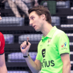 Michaël Pontus gepromoveerd tot het hoogste niveau voor indoor scheidsrechters!