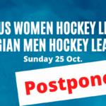 Division d'Honneur – les matches de ce dimanche 25 octobre sont reportés