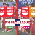 La Belgique affronte la Grande-Bretagne et les Pays-Bas en Hockey Pro League