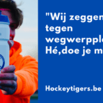 Clubs News – Hockeyclub Keerbergen Tigers zegt nee tegen wegwerpplastic!