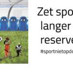 """Open brief VSF: """"Zet sport niet langer op de reservebank"""""""