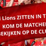 TOKIO 2020 – Red Lions samen aanmoedigen op de club! + WIN EEN EVENT