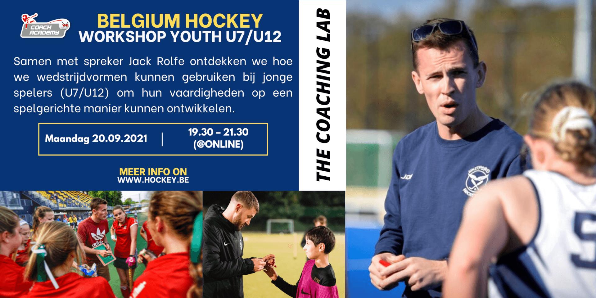 Belgium Hockey Workshop Youth U7U12(1)
